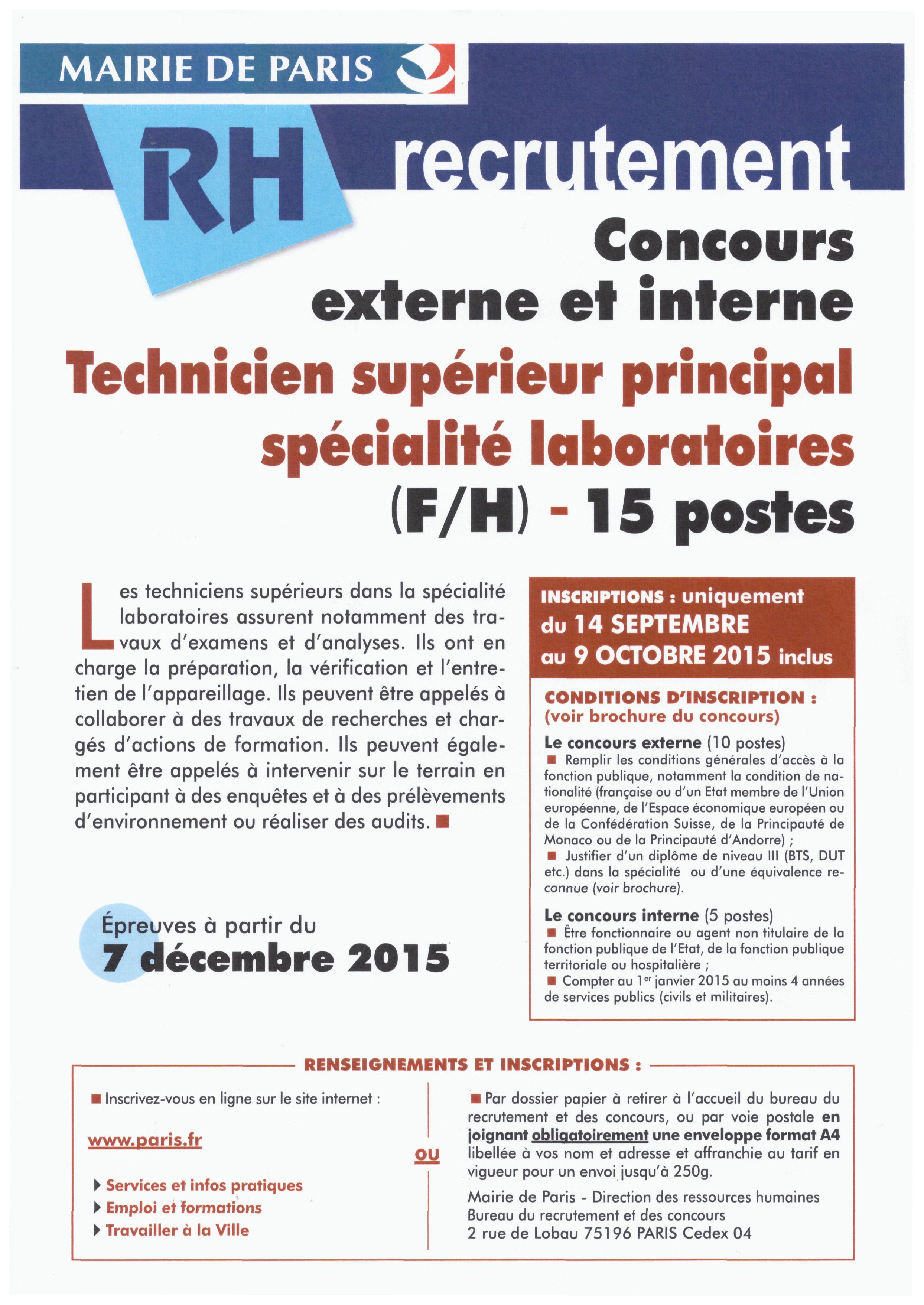 concours mairie de paris