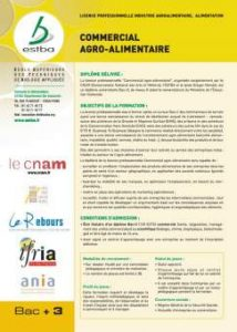 Commercial en agroalimentaire